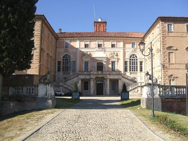 facciata castello govone