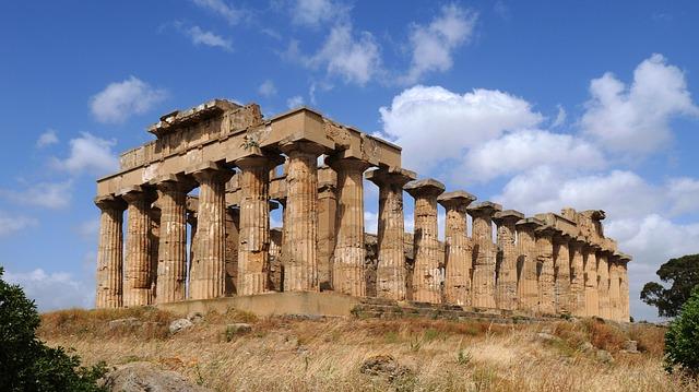 selinunte tempio sicilia